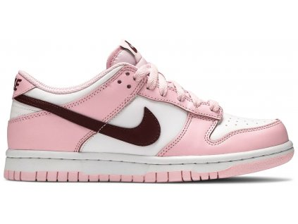 Nike Dunk Low Pink Red White (GS)