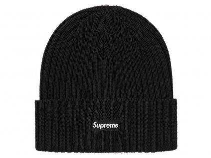 supreme overdyed beanie black