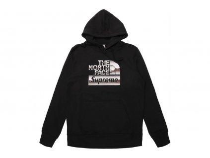 Supreme The North Face Metallic Logo Hooded Sweatshirt Black result