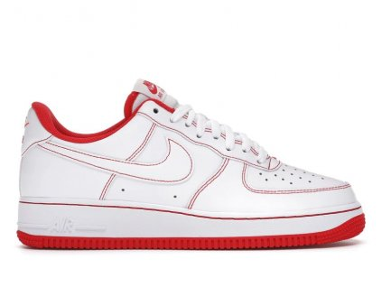 Air Force 1 Low 07 White University Red