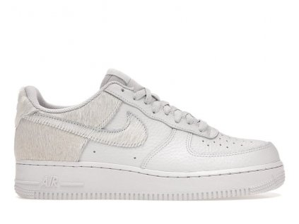 Air Force 1 Low White Pony Hair Heel