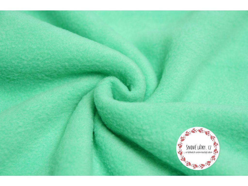 fleece antipilling smaragdovy