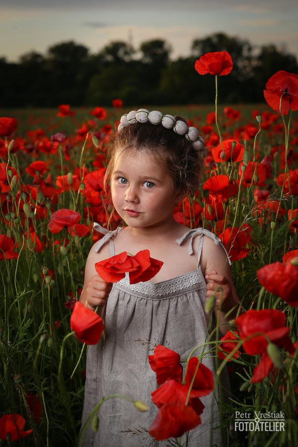 Dětské přírodní lněné šaty
