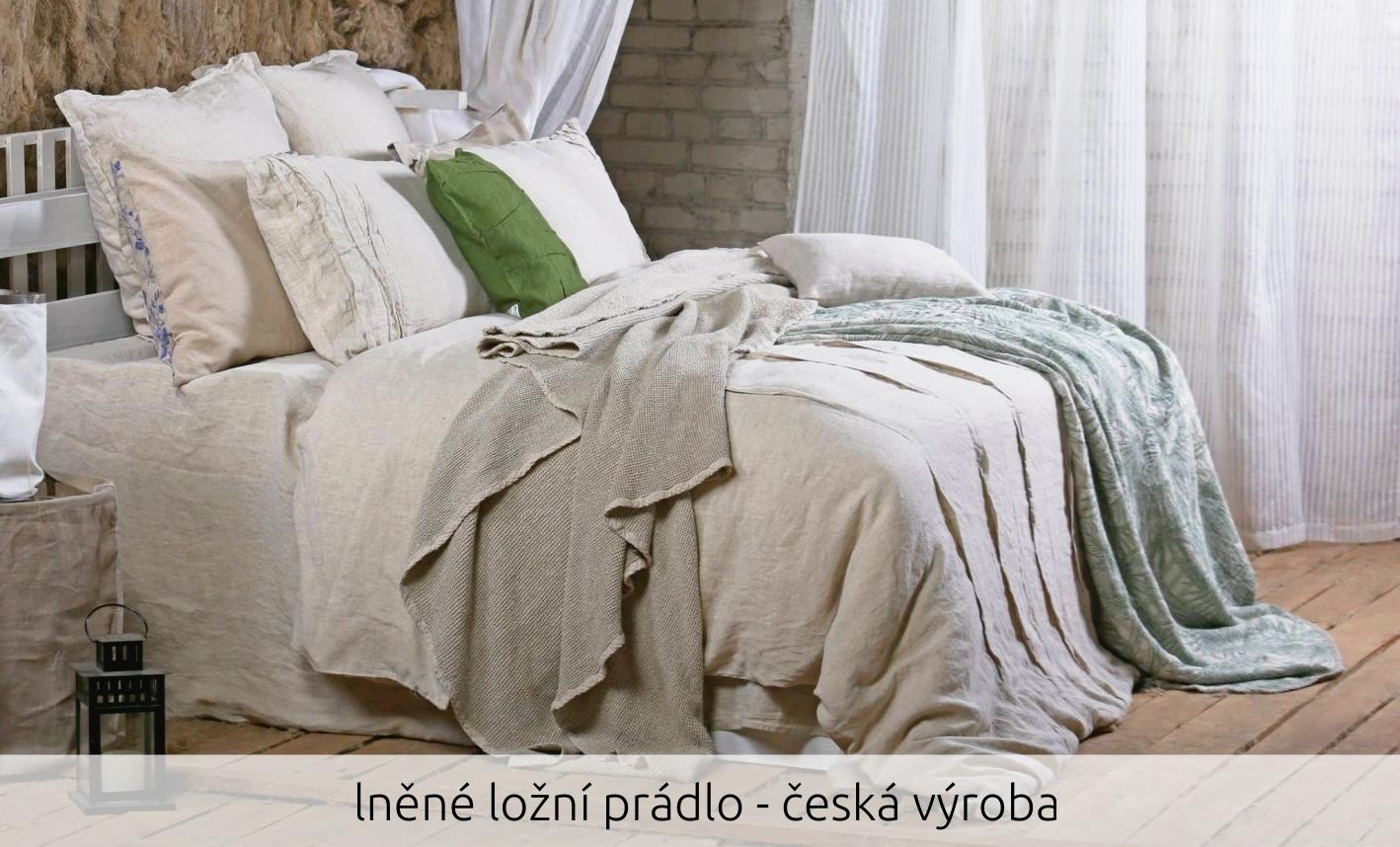 lněné ložní prádlo - česká výroba