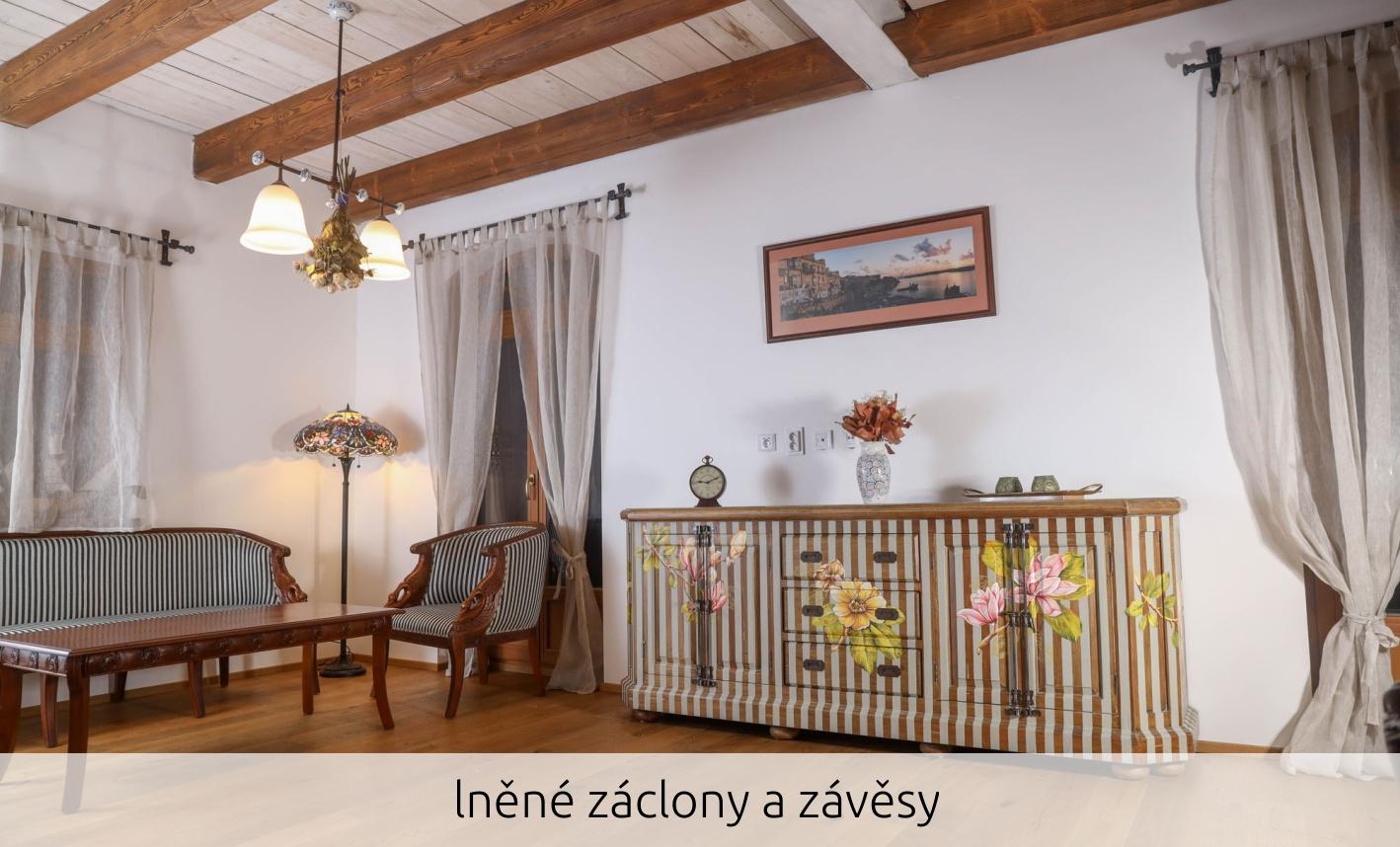 Záclony v interiéru