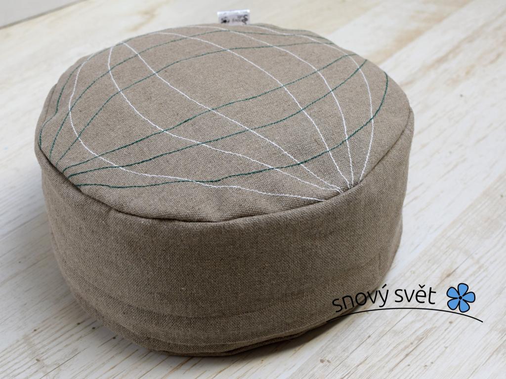 Meditační pohankový sedák Magie 14 cm - PP0015