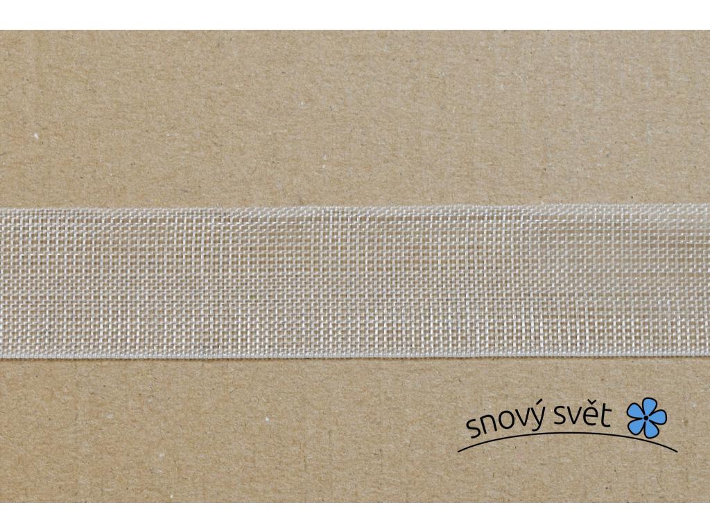 Záclonovka - výztuhová páska, 24 mm - VT0005