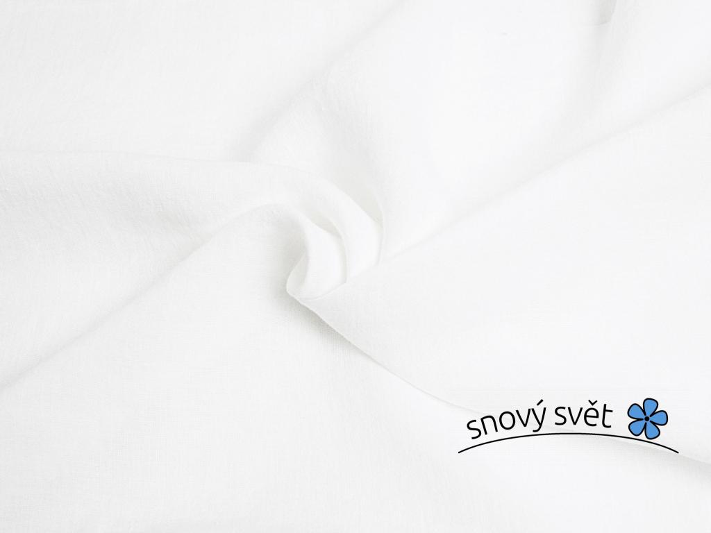 VZOREK - Bílé měkčené konopí 285cm - KTX001_01