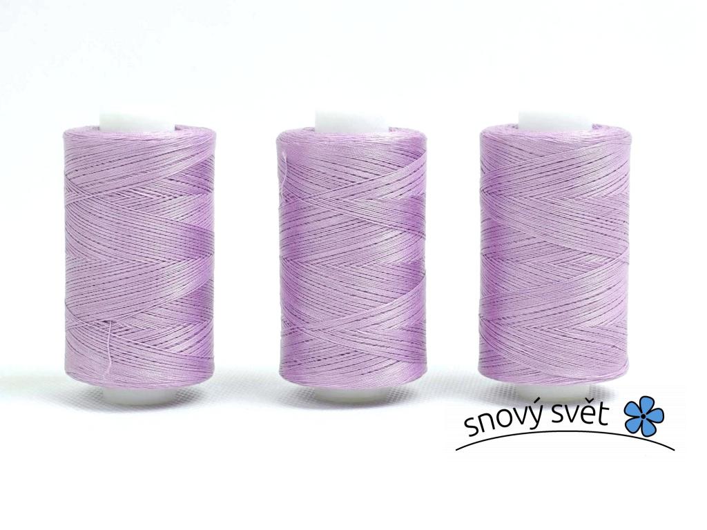 Bavlněná nit fialová (3938) 1000 yards - AP0006