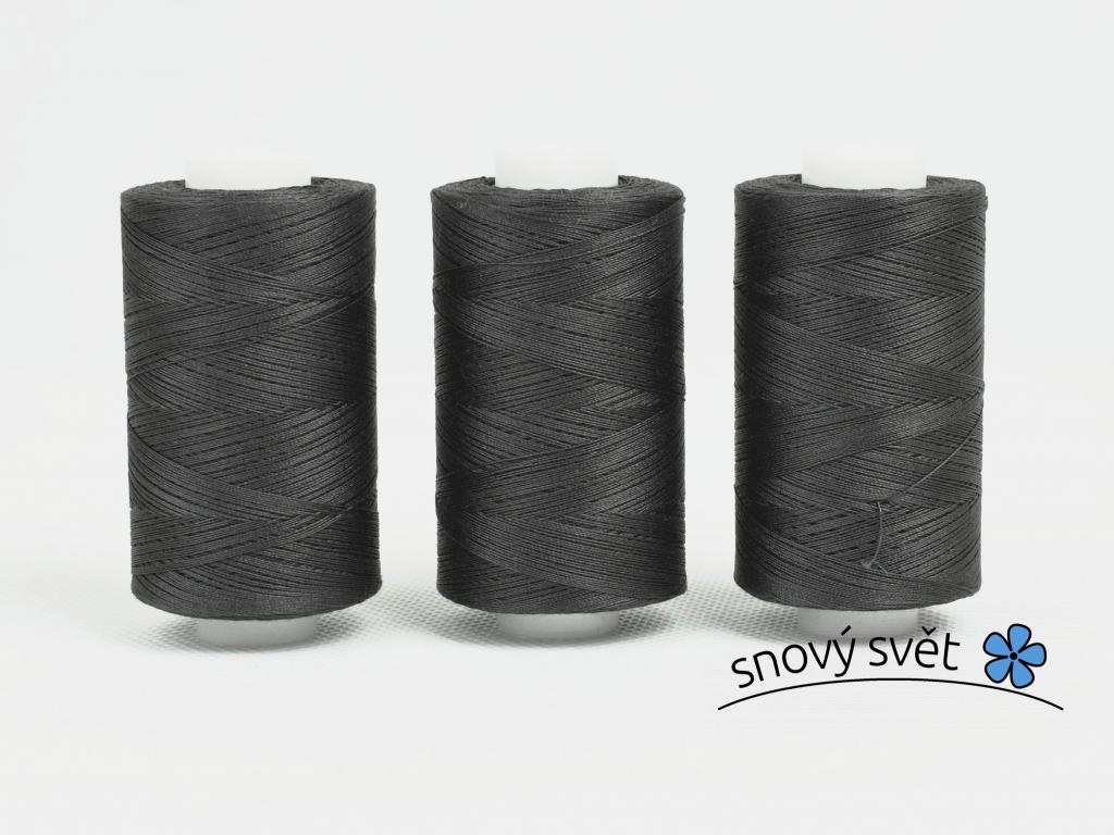 Bavlněná nit šedá (3043) 1000 yards - AP0007