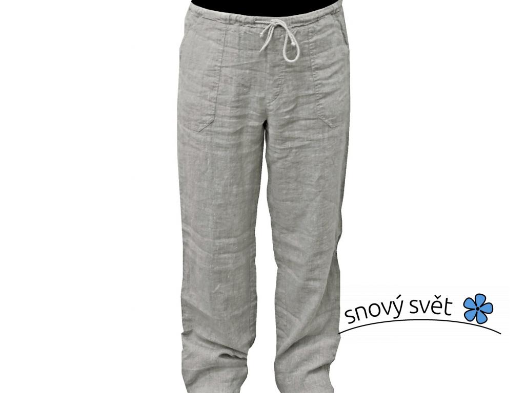 Lněné kalhoty přírodní UNI - 260 g/m2 - SS0160_S