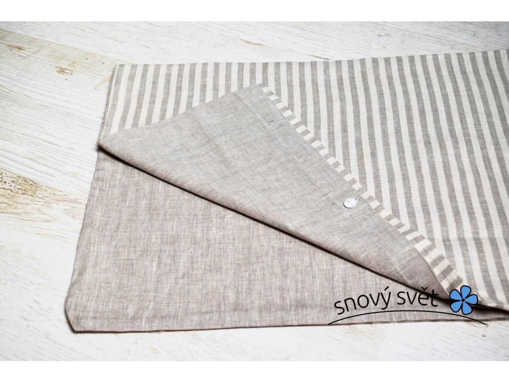 Povlak na polštář PRUHY Kx70x90 - SS0176