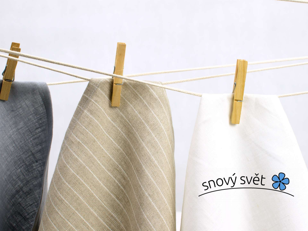 Prádelní šňůra bavlněná - režná - OD0002