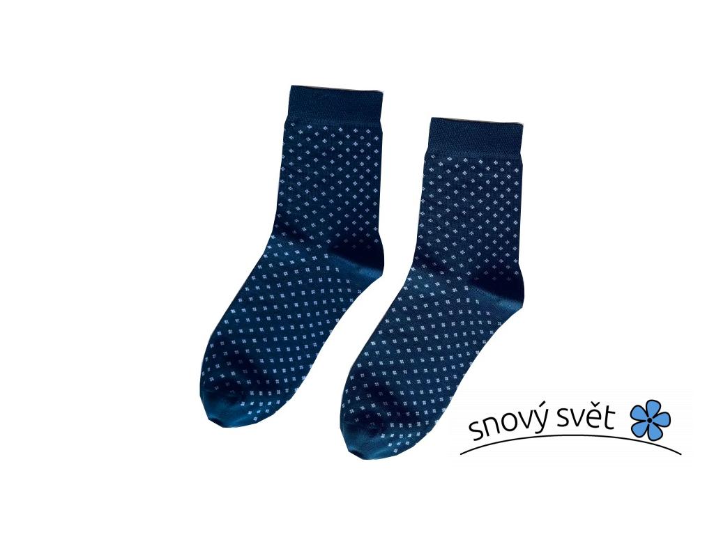 Bavlněné ponožky Modrotisk dětské - KB0005_05