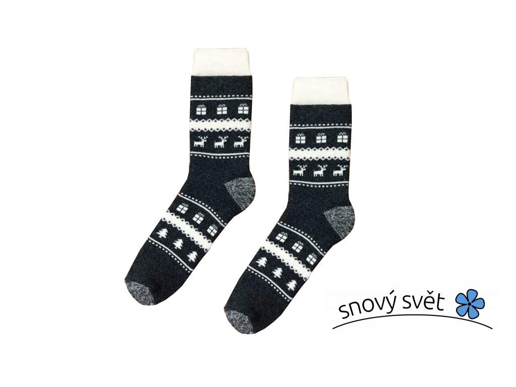 Vlněné Thermo ponožky ZIMA - KB0006_05