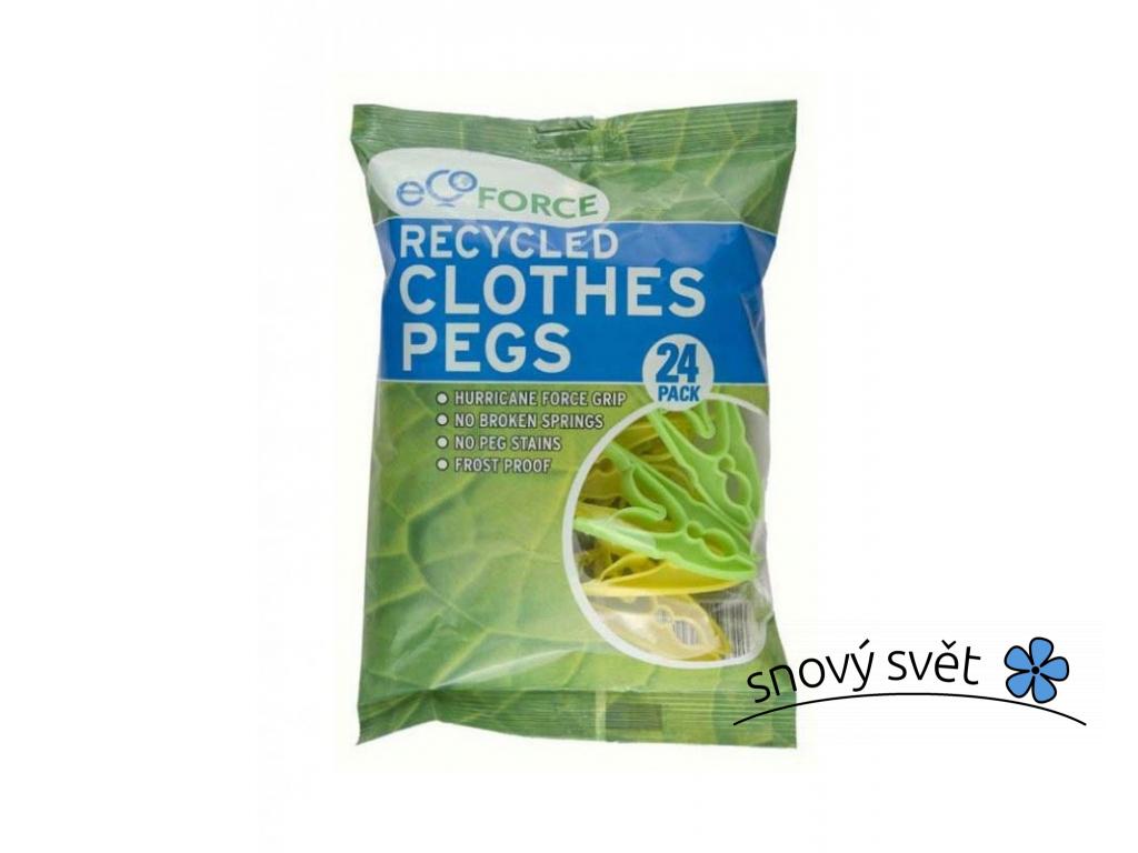 EcoForce Kolíčky na prádlo (24 ks) - EN0001