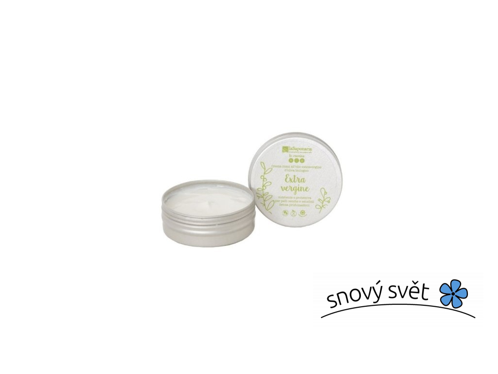 laSaponaria Krém na ruce s extra panenským olivovým olejem BIO (60 ml) - EN0003