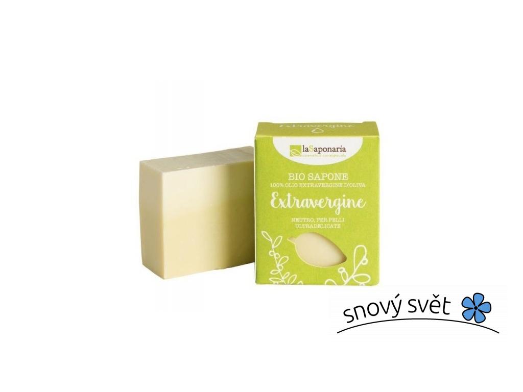 laSaponaria Tuhé olivové mýdlo BIO - Neutrální (100 g) - EN0009