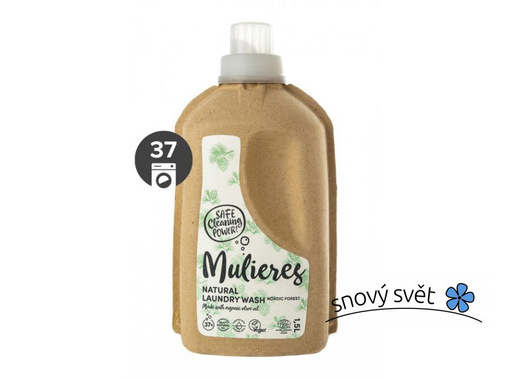 Mulieres Koncentrovaný prací gel BIO (1,5 l) - severský les - EN0015