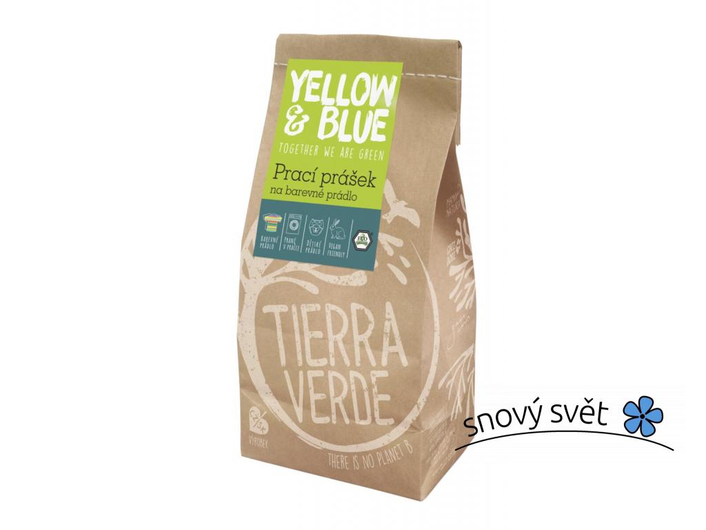 Prací prášek na barevné prádlo Tierra Verde - TV0001
