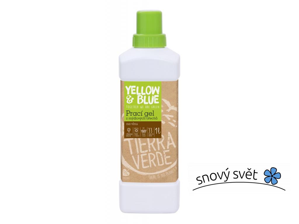 Prací gel z mýdlových ořechů na vlnu a funkční textil z merino vlny Tierra Verde - TV0016