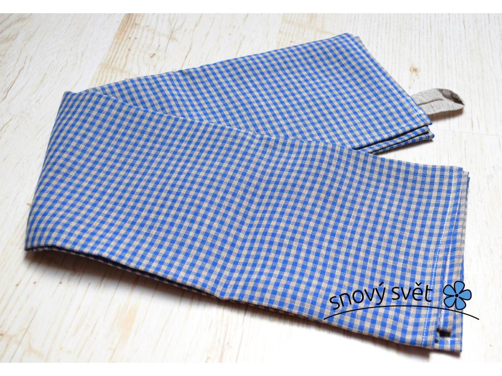 Plátěný ručník Kara modrá - SS0053