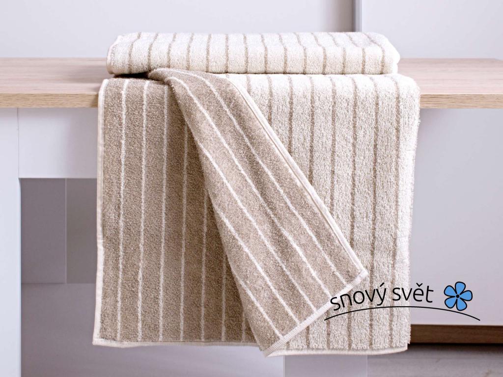 MAIA přírodní ručník len/bambus - FL0020