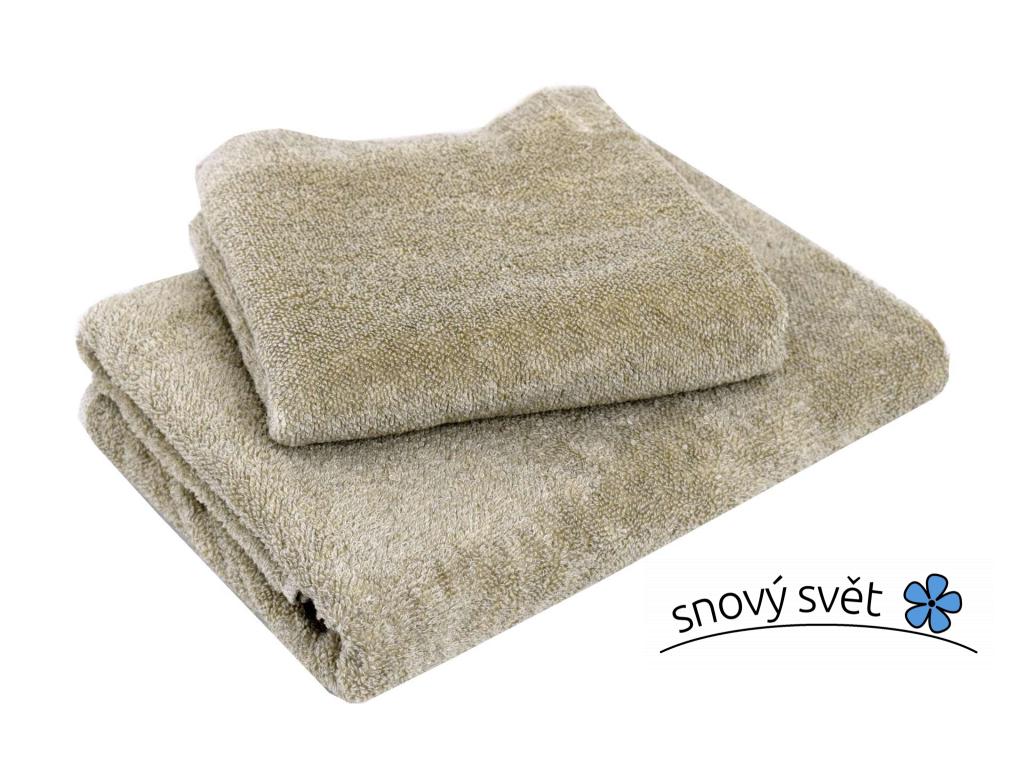 Lněný ručník měkký natural - LP0027_01