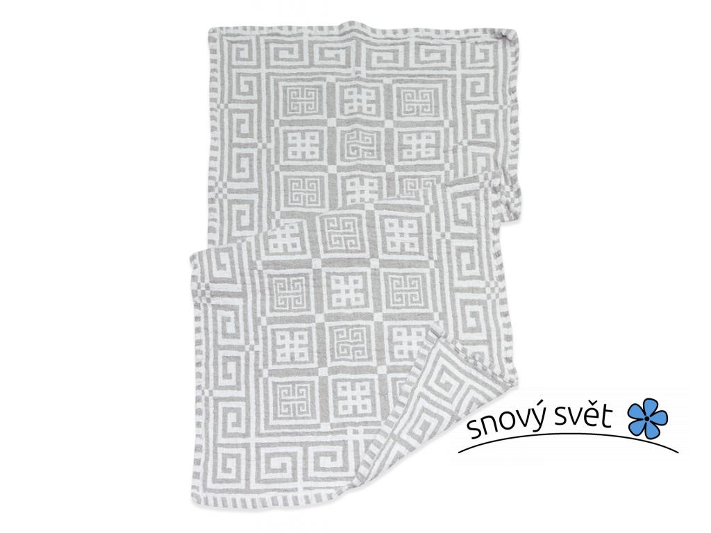 Lněný ručník Greek II - BL0077