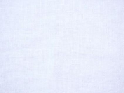 Lněná látka bílá měkčená - CNX014