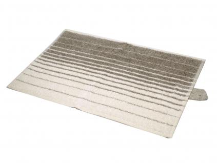 Lněný ručník měkký proužek vlny - LP0038_01