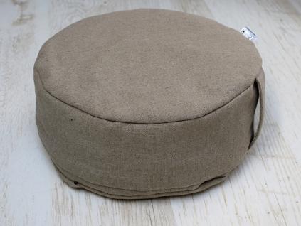 Meditační pohankový sedák Silen 14 cm, - PP0016