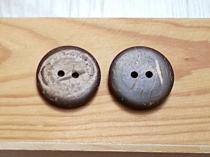 """Kokosový knoflík - 36"""" - ZV0006"""