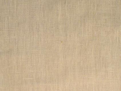 VZOREK - Lněná látka písková měkčená - CNX019_01