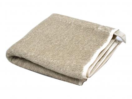 Lněný ručník masážní světlý melír - LP0060_01