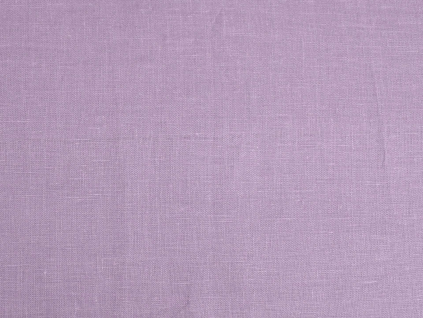 VZOREK - Lněná látka fialová lila měkčená - BLX029_01