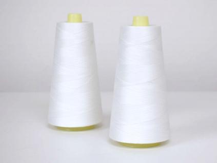 Bavlněná nit bílá 5000 yards - AP0033