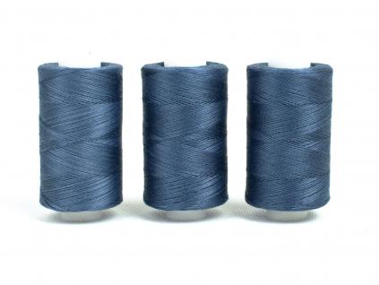 Bavlněná nit modrá (3844) 1000 yards - AP0011