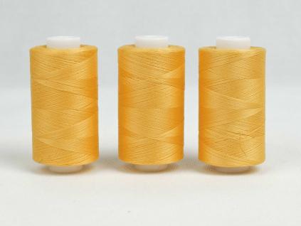 Bavlněná nit žlutá (3533) 1000 yards - AP0023