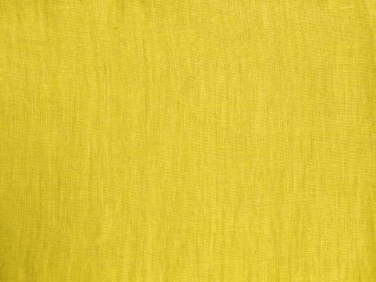 Lněná látka citrónová měkčená - LIX005