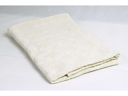 Lněný ručník velký Hvězdy - BL0132