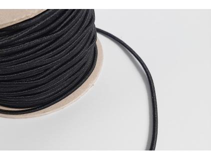 Pruženka 2 mm klobouková černá - VM0016_02