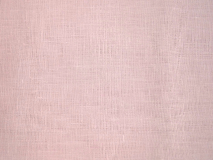 Lněná látka starorůžová měkčená - BLX040