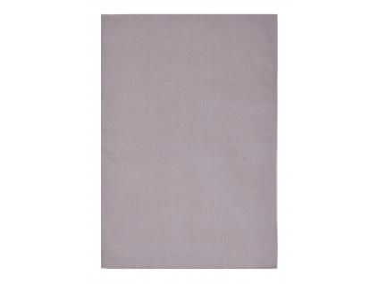 Vaflová fialová - lněná utěrka - BL0147