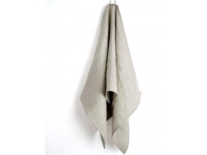 Lněný ručník vaflový natural II - SS0177