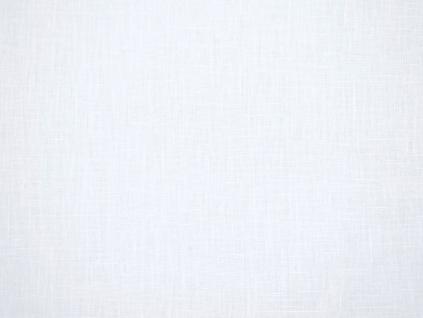 Lněná látka bílá měkčená 245g/m2 - CNX022