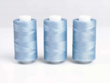 Bavlněná nit modrá (3838) 1000 yards - AP0031