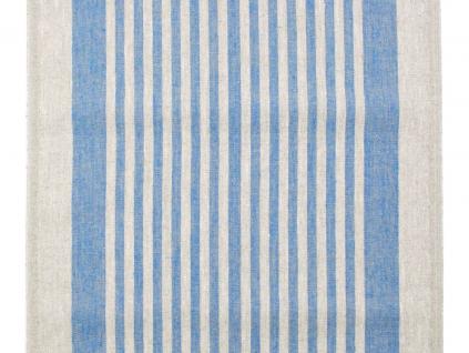 Kréta modrá - lněná látka - BLX055