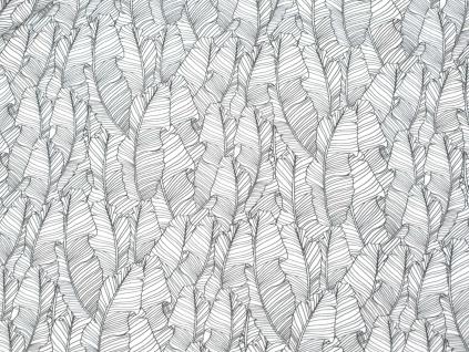 Marginta - lněná látka měkčená - LPX008