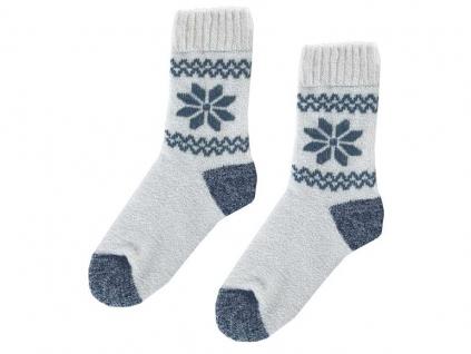 Vlněné Thermo ponožky s vločkou - KB0002_05